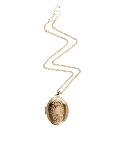 ASOS – Halskette mit Medaillon mit Schloss