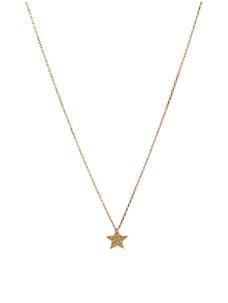 Gogo Philip – Dünne Halskette mit graviertem Stern