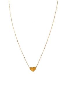 Gogo Philip – Halskette mit kleinem, graviertem Herzanhänger