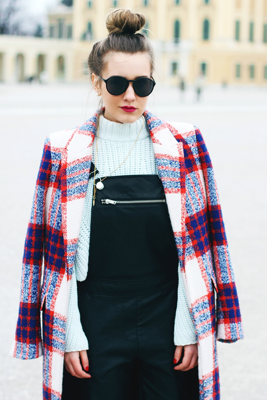 overalls outfit combination - fashion blogger