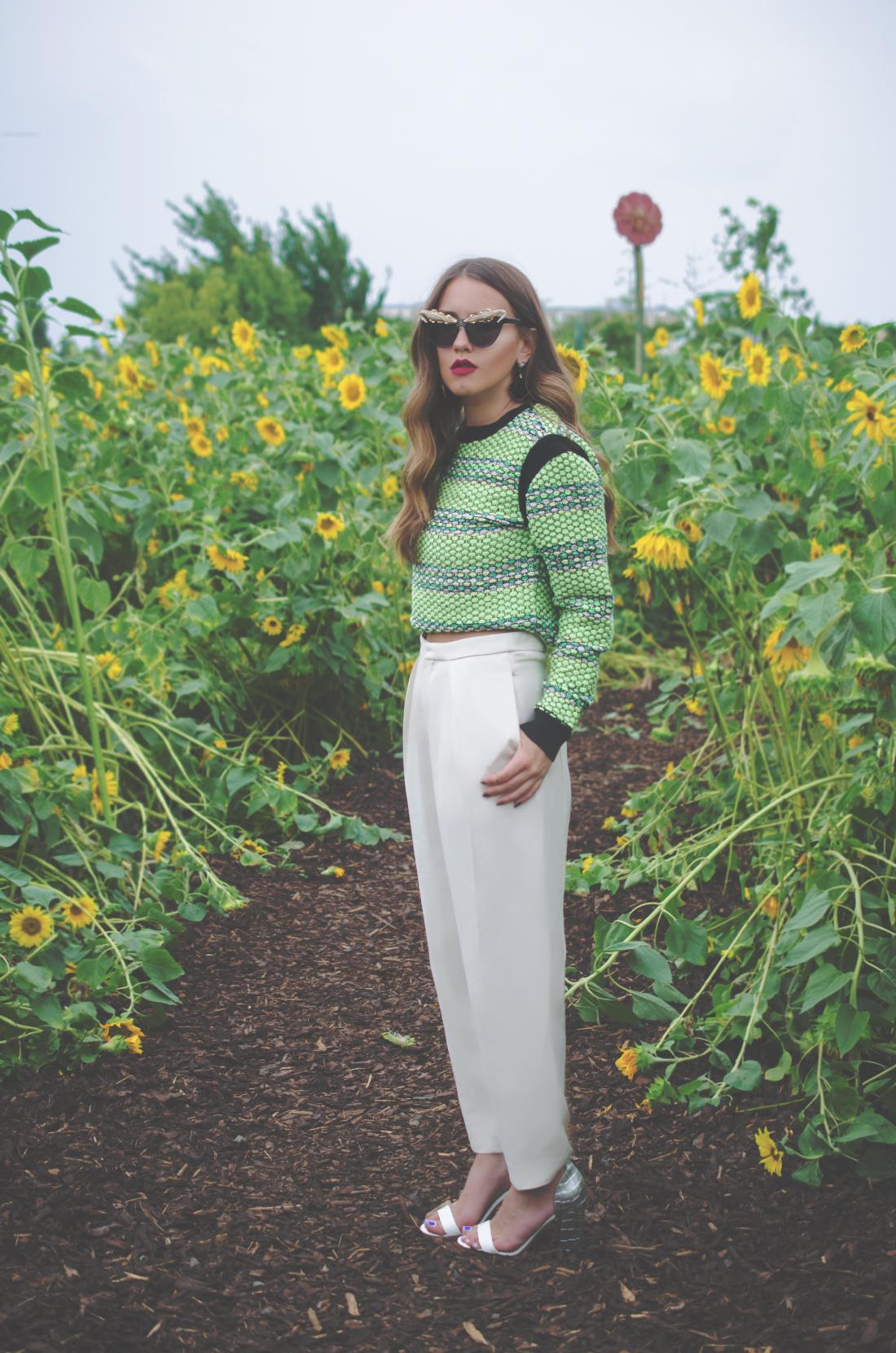 green outfit inspiration - fleur de mode