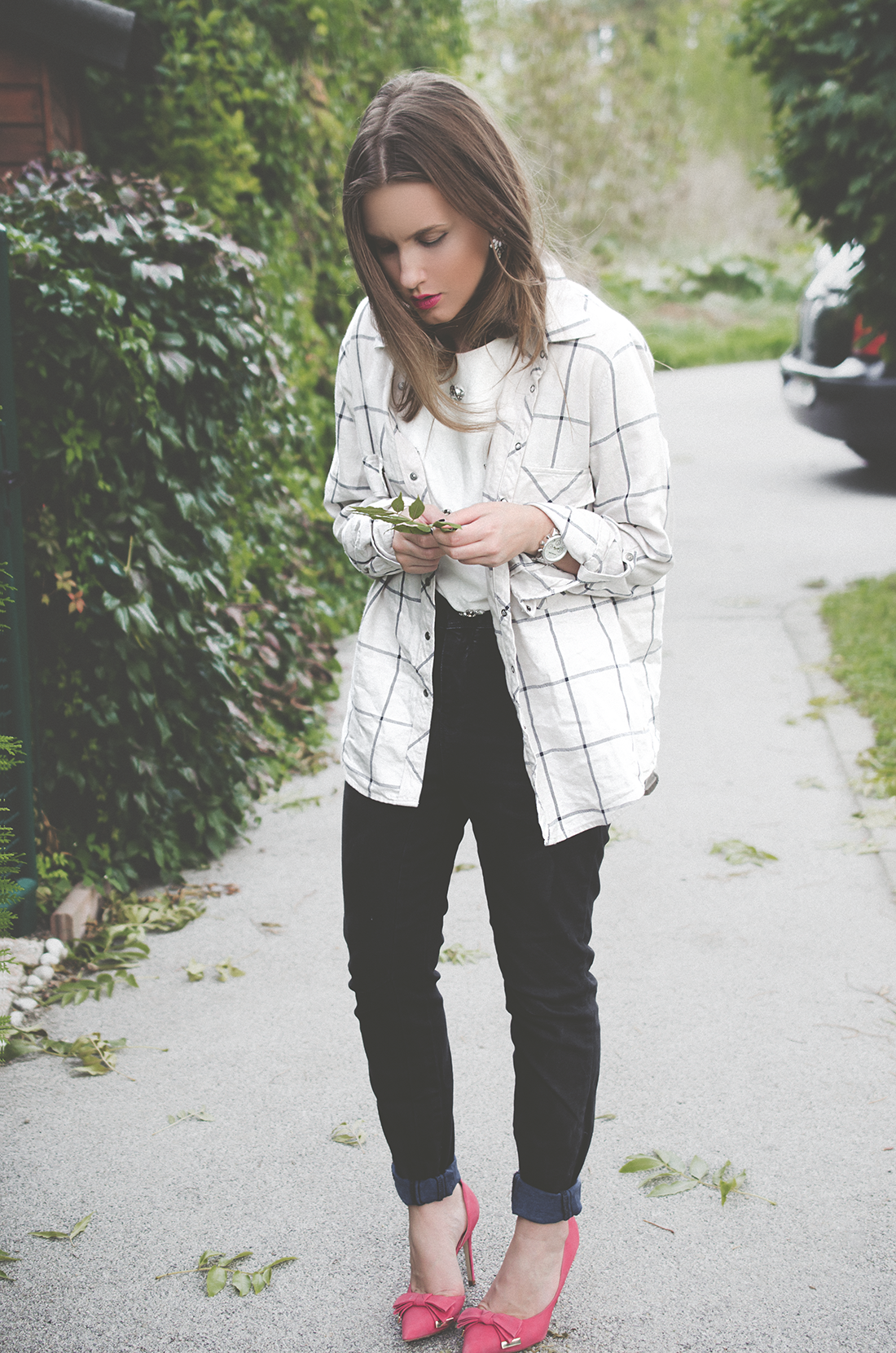 casual outfit - oversized hemd - beggie pant - fleur de mode - hristina micevska