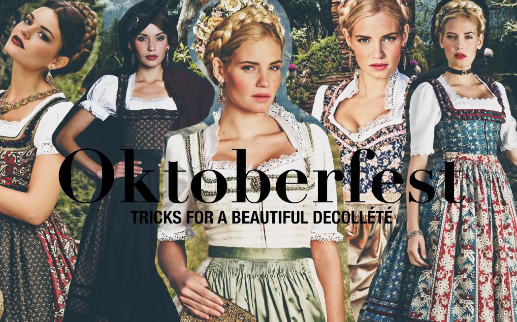 Oktoberfest Dirndl Decollete