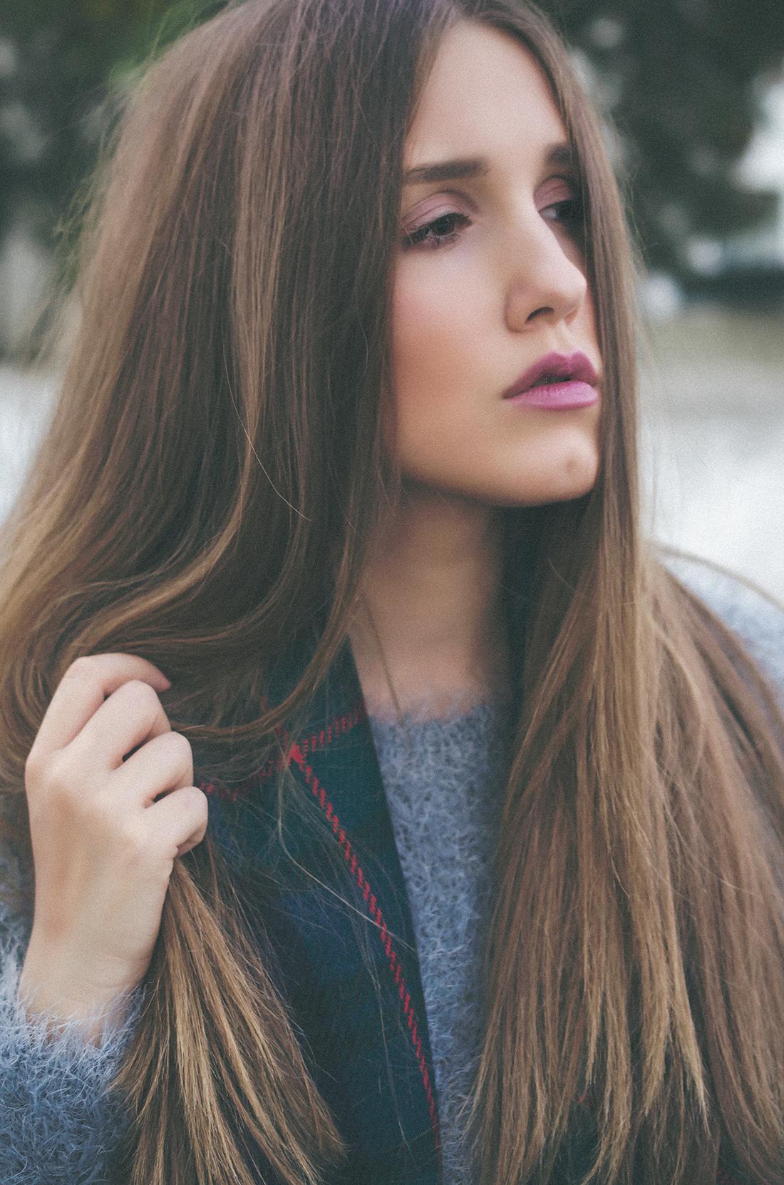 flauschiger pullover - glam meets comfort - fleur de mode - hristina micevska