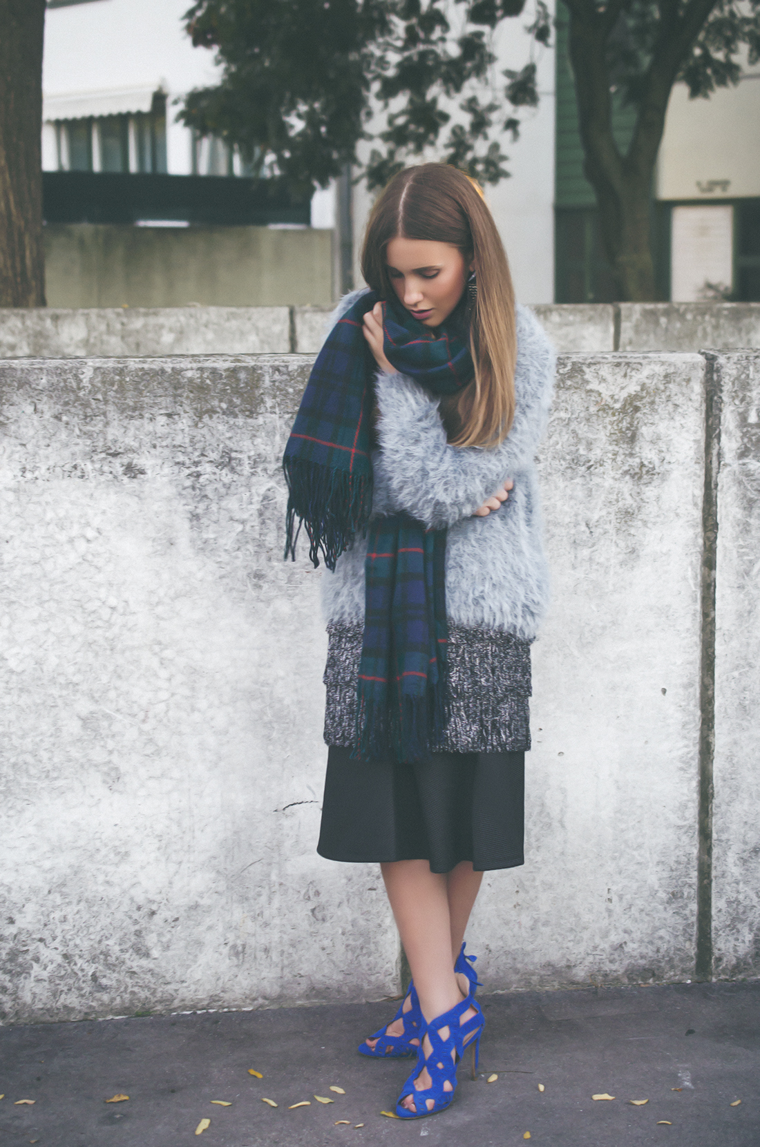 herbst outfit inspiration - oversized pullover - fleur de mode - hristina micevska