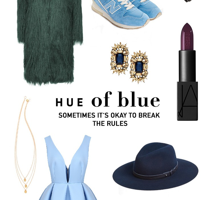 Hue of Blue – Sneakers mal anders