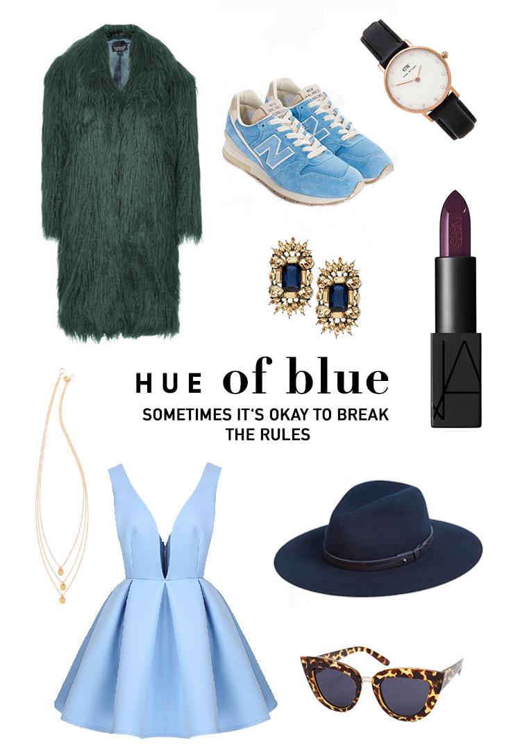 hue of blue