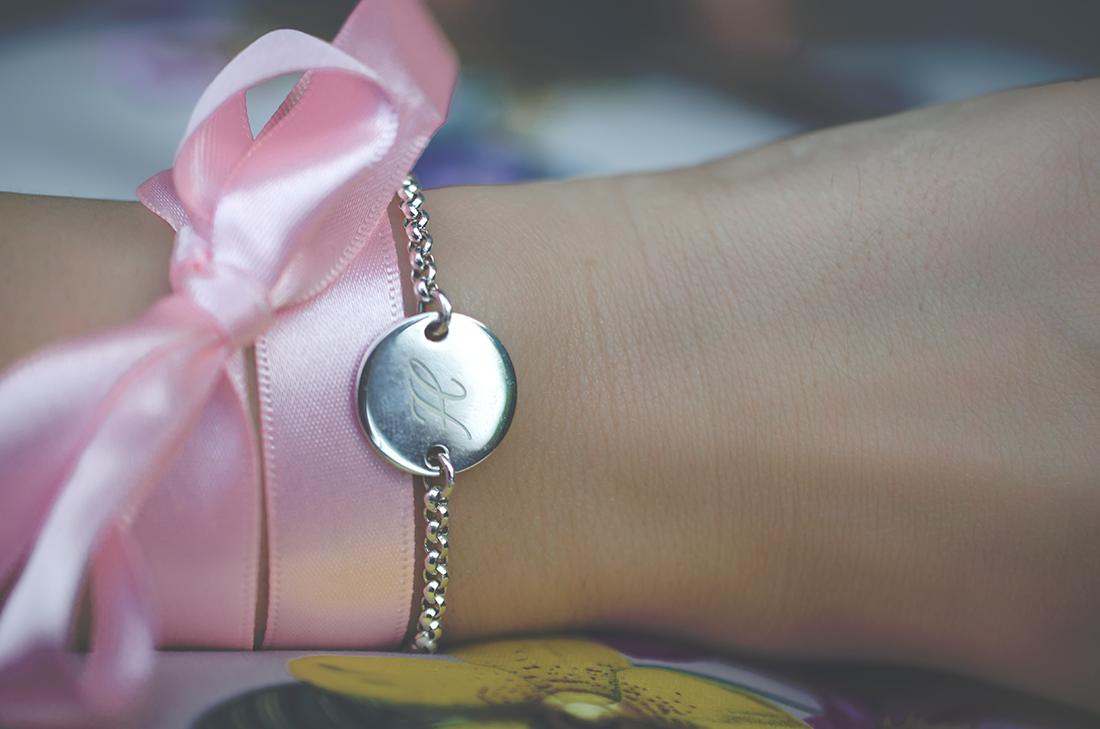 personalisiertes armband - fleur de mode - hristina micevska