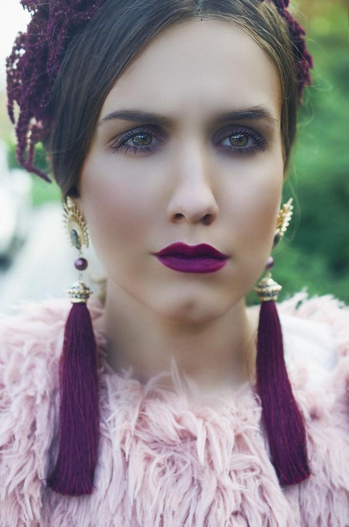 berry lipstick