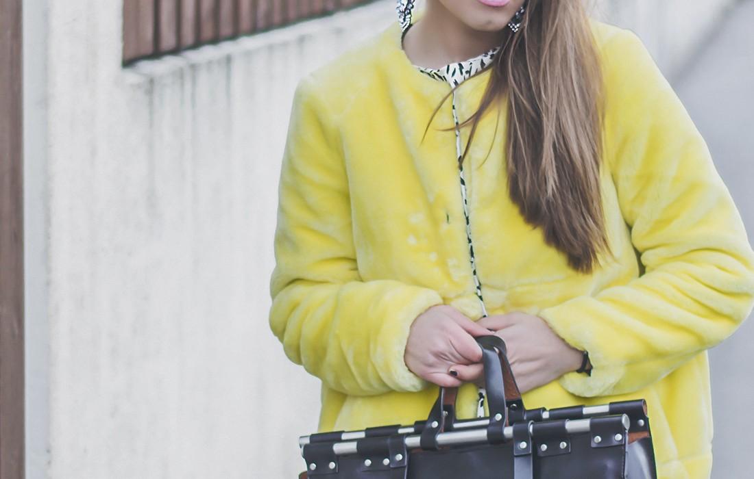 Felljacke Outfit Inspiration