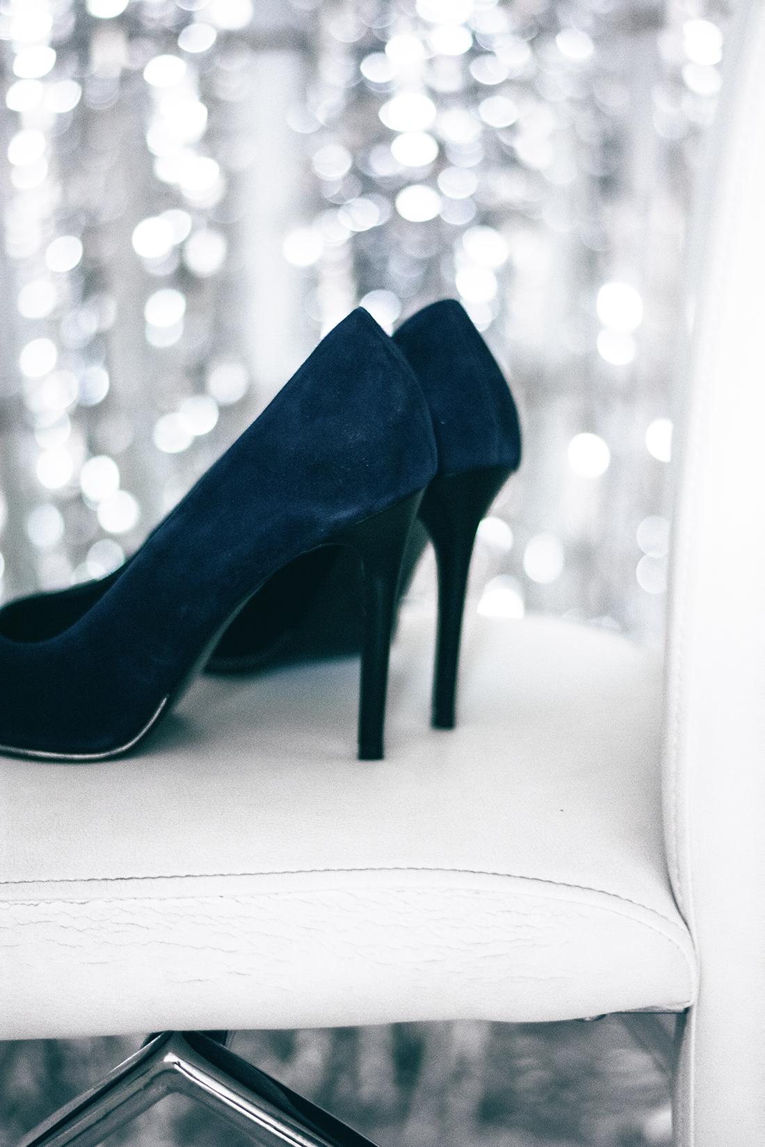 tosca blu high heels velvet blue