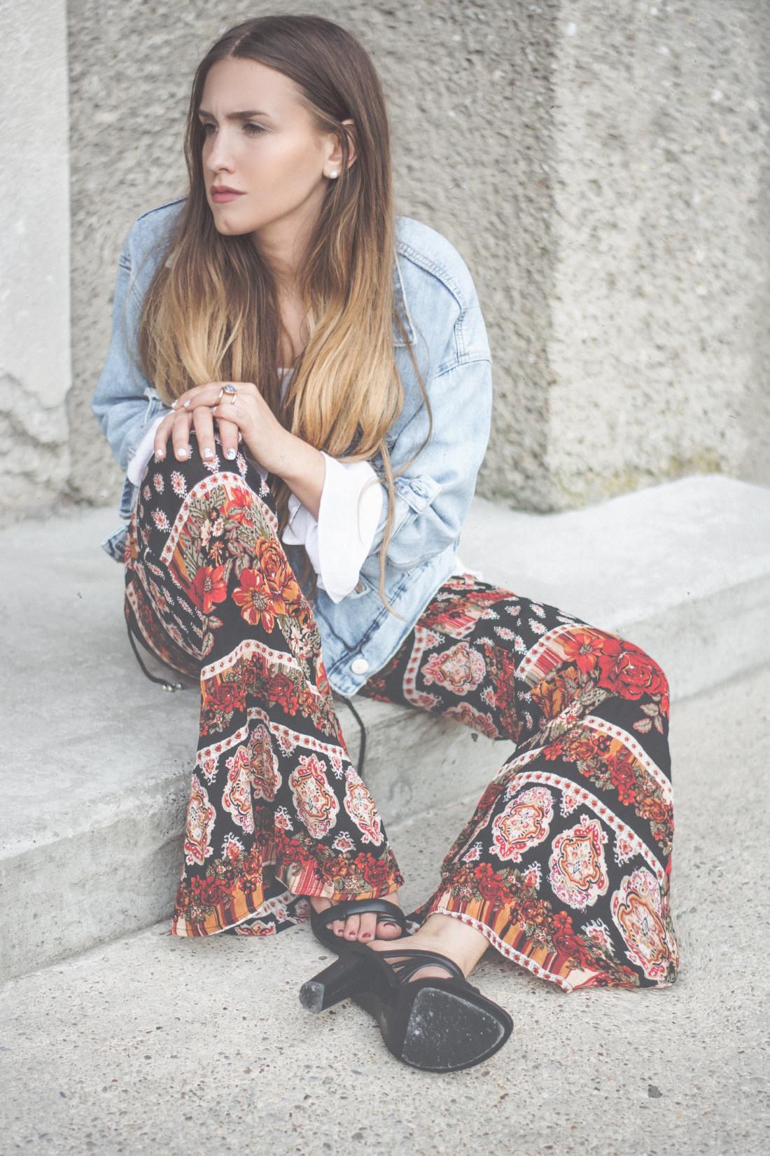 Fleared Pants - Glockenhosen - Trend Revival 2015