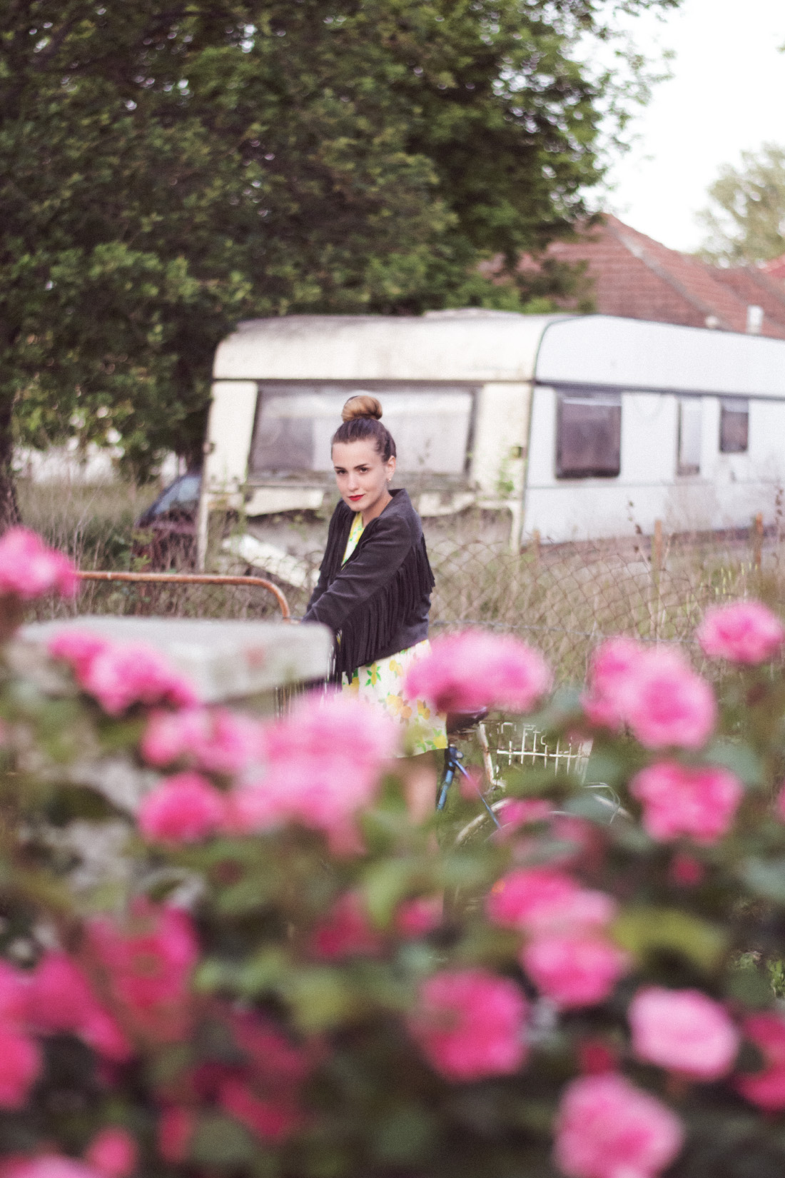 vintage caravan fashion editorial
