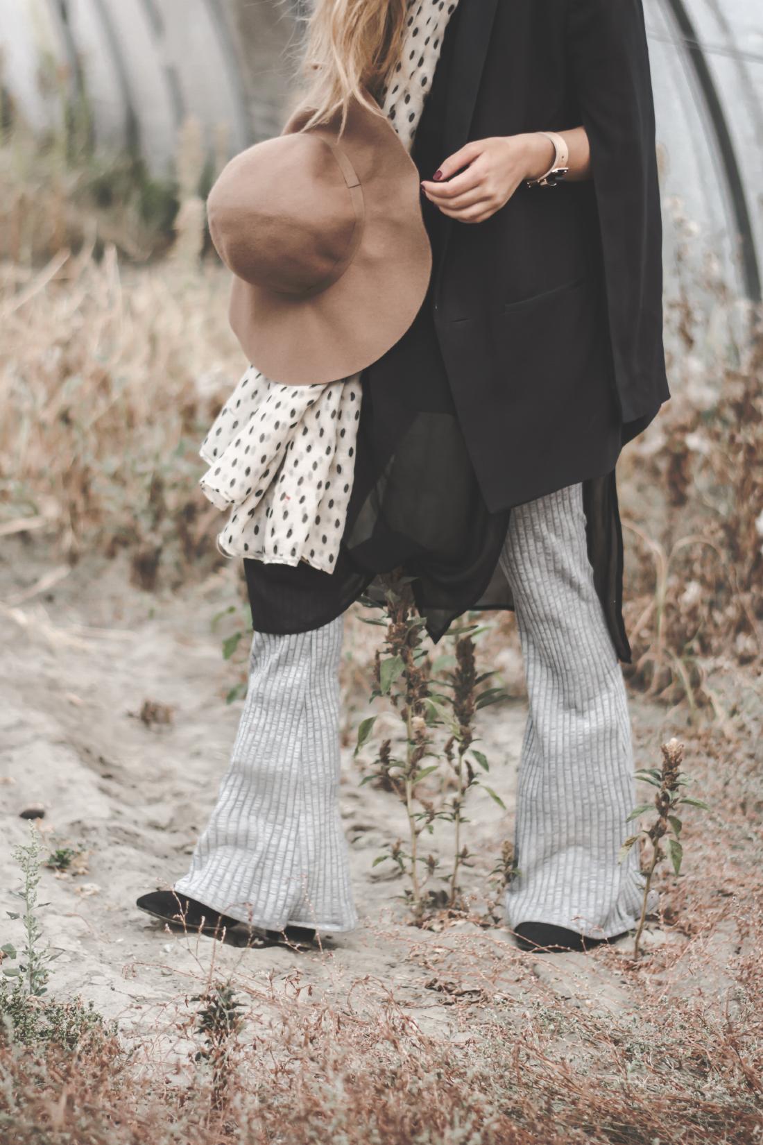 boho flared pants - Fleur de Mode