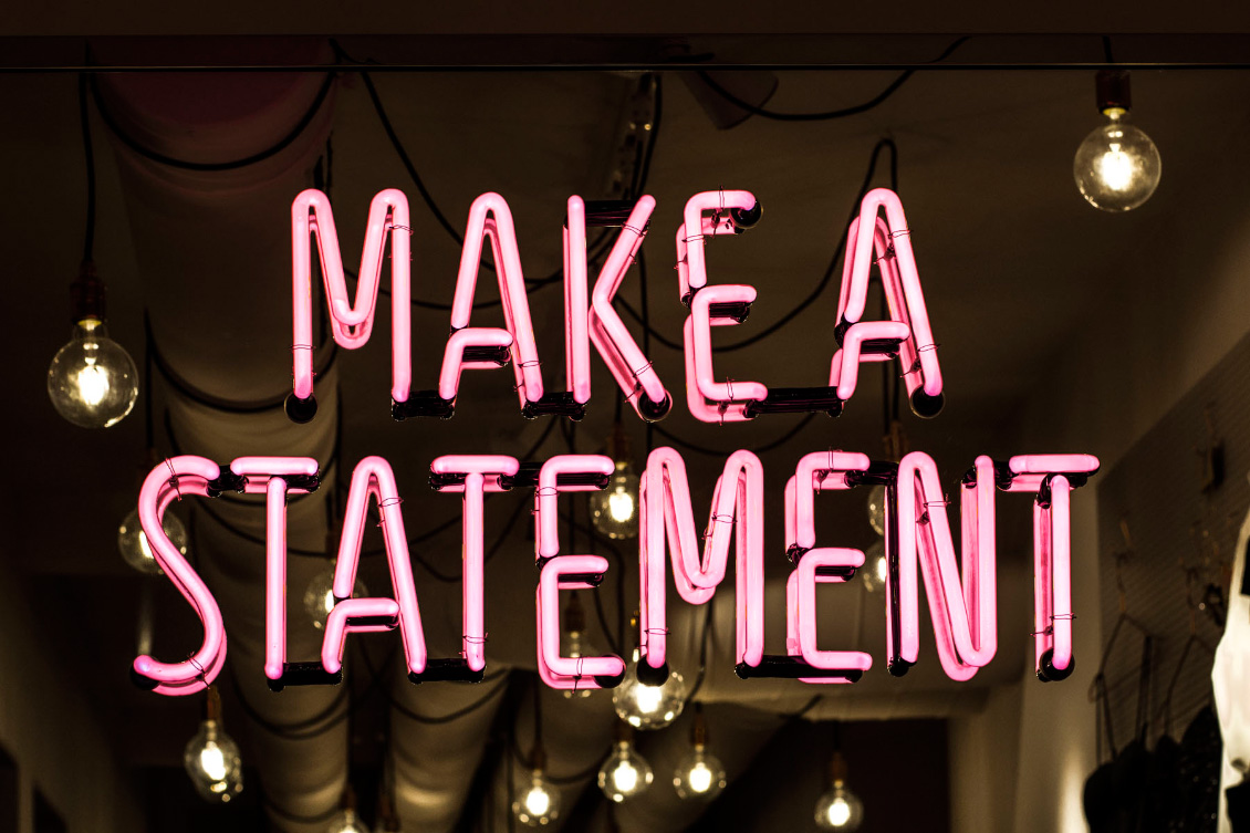 Make a statement - Interior Tally Weijl
