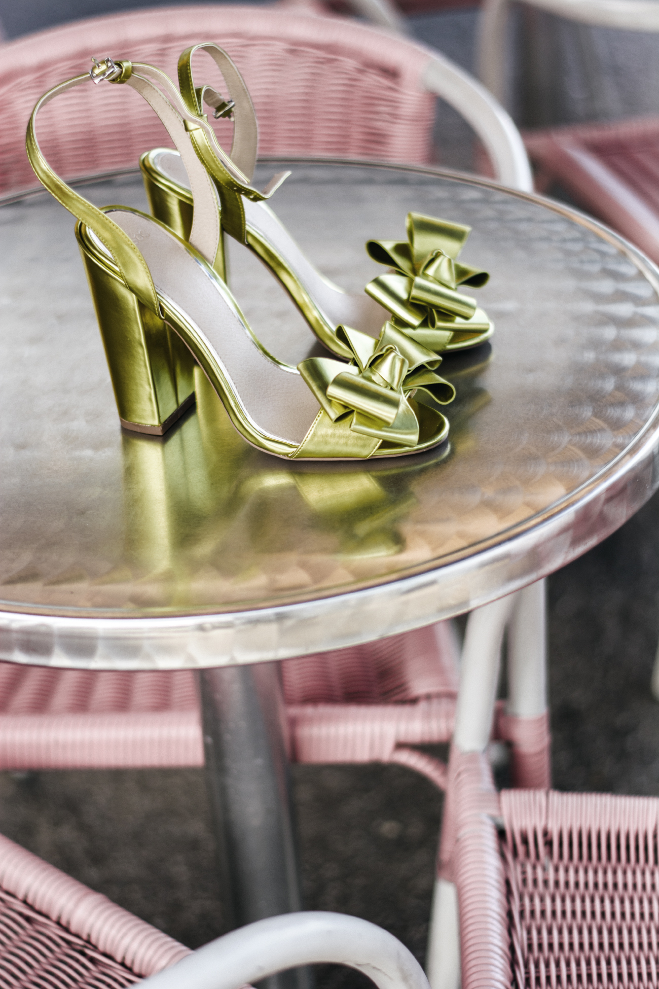 green High Heels asseenonme via Asos
