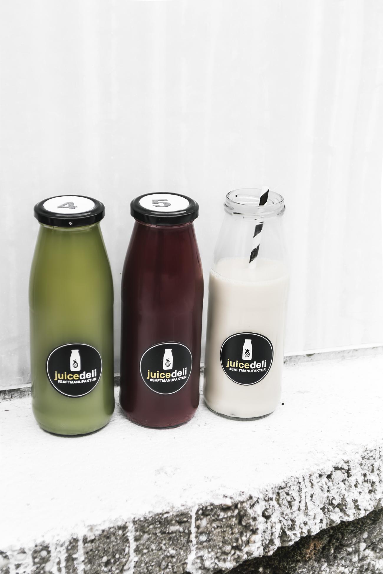 JuiceDeli Detox Säfte - Grüner Juice - Rote Beete Juice - Nussmilch @fleurdemode