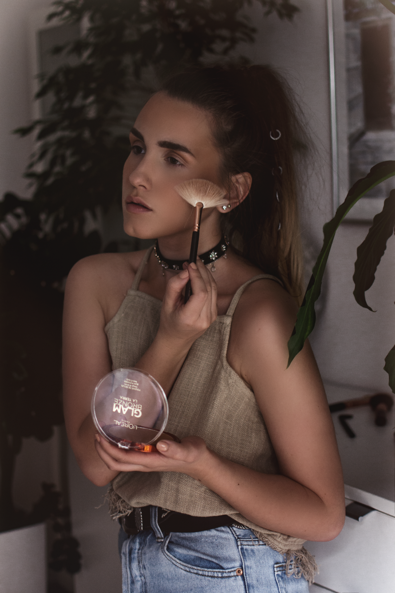 How to apply bronzer sunkissed tan - L'Oreal Paris @fleurdemode